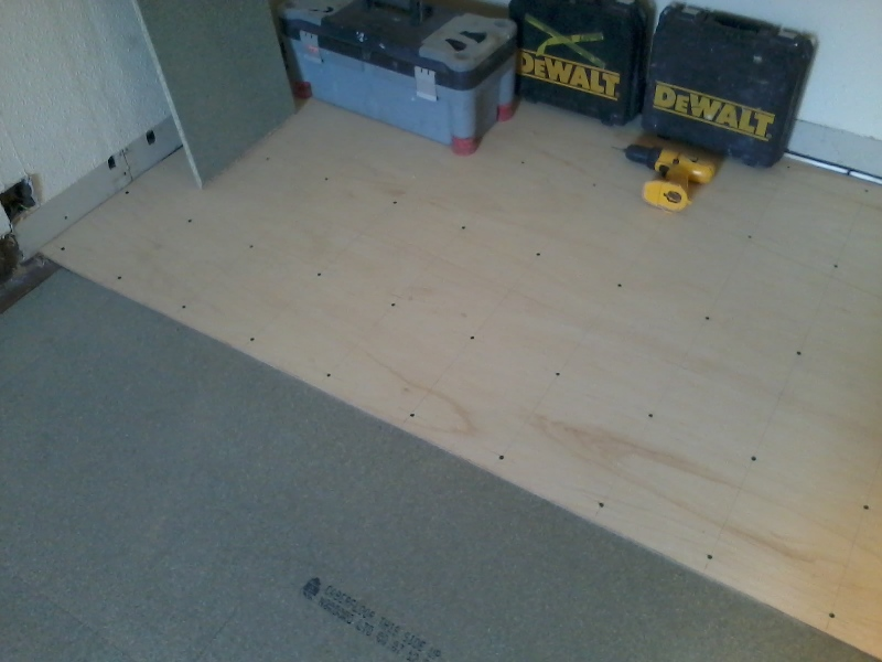 Additional Plywood For Strength