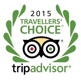 TripAdvisor Travelers Choice 2015 Winner