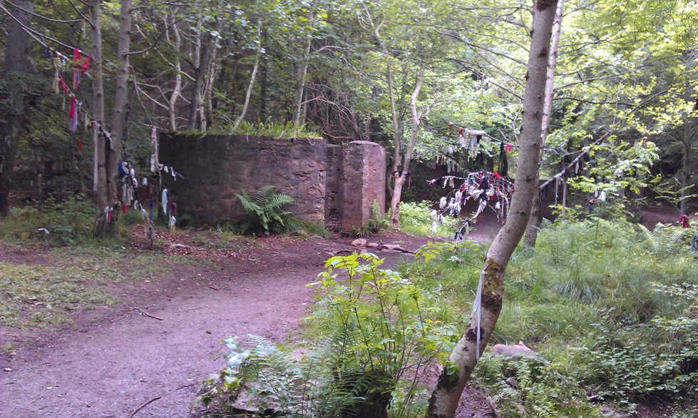 Clootie Well at Culloden Wood