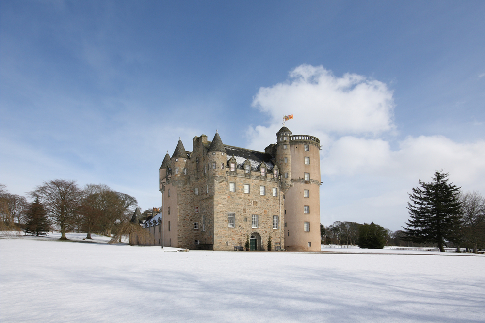 The top four haunted castles in scotland for Stay in a haunted castle in scotland