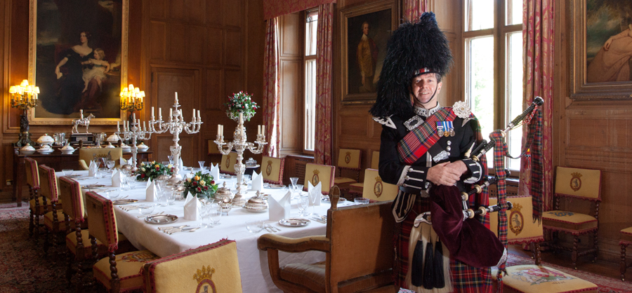 Scottish Highland Wedding Piper